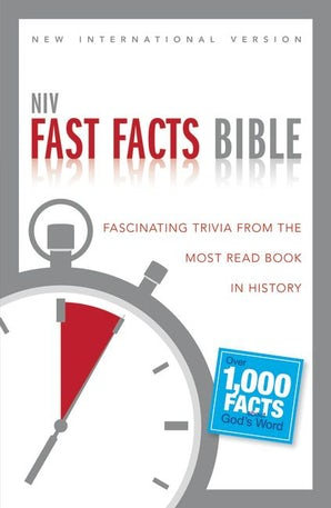 NIV, Fast Facts Bible, Paperback book image