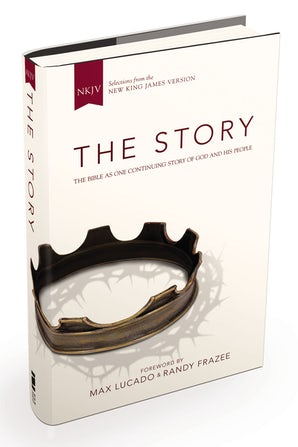 NKJV, The Story, Hardcover book image