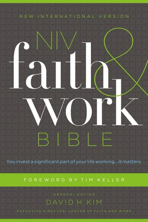 NIV, Faith and Work Bible, Hardcover book image