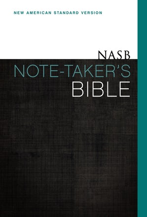 NASB, Note-Taker's Bible, Hardcover, Red Letter Edition