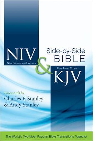 NIV, KJV, Side-by-Side Bible, Hardcover book image