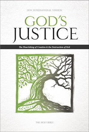 NIV, God's Justice Bible, Hardcover book image