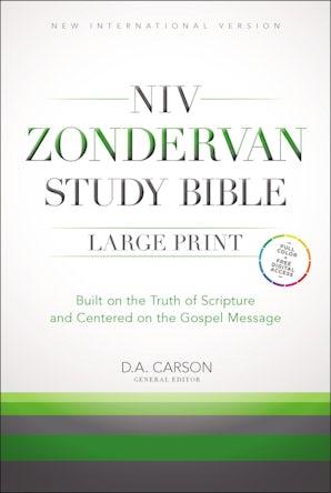 NIV Zondervan Study Bible, Large Print, Hardcover