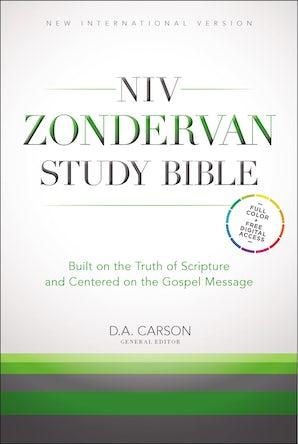 NIV Zondervan Study Bible, Hardcover book image