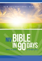 NIV, Bible in 90 Days, Paperback
