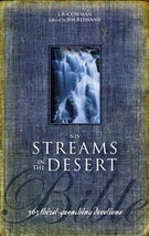 NIV, Streams in the Desert Bible, Hardcover
