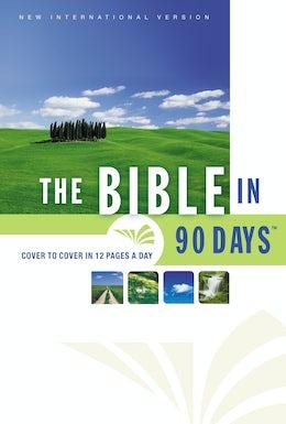 NIV, Bible in 90 Days, eBook
