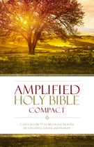 Amplified Holy Bible, Compact, Hardcover