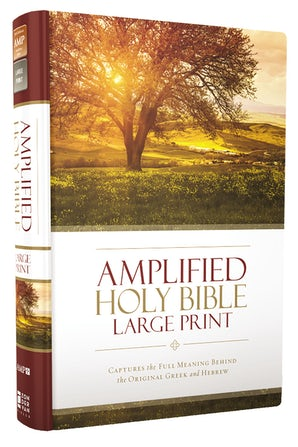 Amplified Holy Bible, Large Print, Hardcover