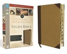 NIV, Cultural Backgrounds Study Bible, Leathersoft, Tan, Indexed, Red Letter Edition