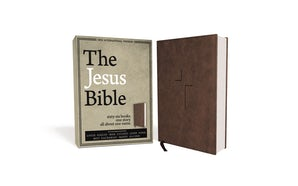 The Jesus Bible, NIV Edition, Leathersoft, Brown