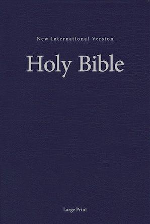 NIV, Pew and Worship Bible, Large Print, Hardcover, Blue, Comfort Print