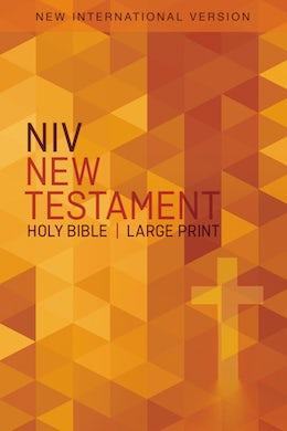 NIV, Outreach New Testament, Large Print, Paperback