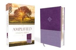 The Amplified Study Bible, Leathersoft, Purple