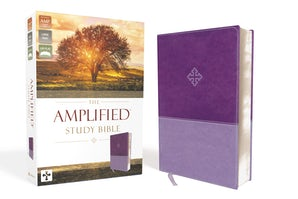 The Amplified Study Bible, Leathersoft, Purple