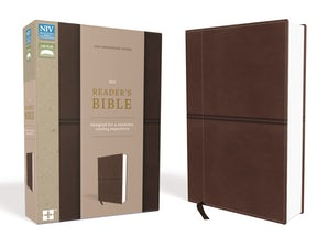 NIV, Reader's Bible, Leathersoft, Brown