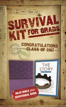 NKJV, 2017 Survival Kit for Grads, Girls