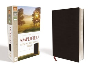 The Amplified Topical Reference Bible, Bonded Leather, Black