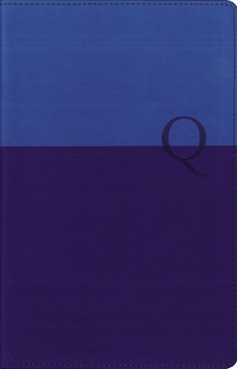 NIV, Quest Study Bible, Personal Size, Leathersoft, Blue, Thumb Indexed