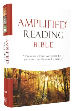 Amplified Reading Bible, Hardcover