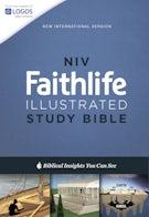 NIV, Faithlife Illustrated Study Bible, Hardcover