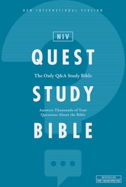 NIV, Quest Study Bible, Hardcover, Comfort Print