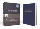 NASB, Pew and Worship Bible, Hardcover, Blue, 1995 Text, Comfort Print