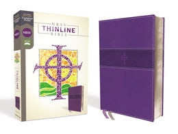 NRSV, Thinline Bible, Leathersoft, Purple, Comfort Print