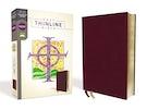 NRSV, Thinline Bible, Bonded Leather, Burgundy, Comfort Print
