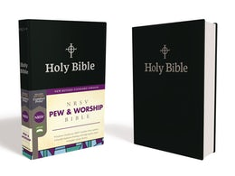 NRSV, Pew and Worship Bible, Hardcover, Black, Comfort Print