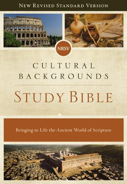 NRSV, Cultural Backgrounds Study Bible, Hardcover, Comfort Print