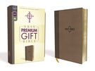 NRSV, Premium Gift Bible, Leathersoft, Brown, Comfort Print
