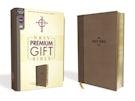 NRSV, Premium Gift Bible, Leathersoft, Brown, Comfort Print