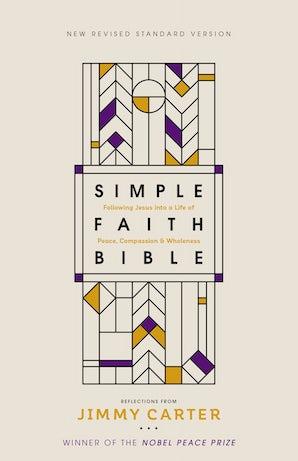 NRSV, Simple Faith Bible, Hardcover, Comfort Print book image