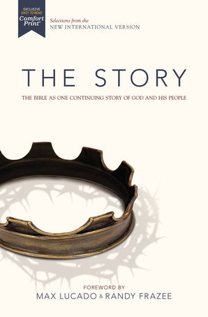 NIV, The Story, Hardcover, Comfort Print book image