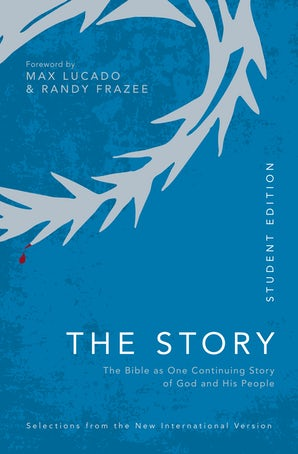 NIV, The Story, Student Edition, Paperback, Comfort Print book image