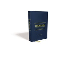 NIV, Thompson Chain-Reference Bible, Hardcover, Red Letter, Comfort Print