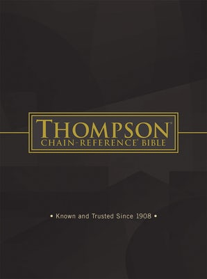 Thompson Chain-Reference Bible, Software Download book image