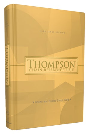 KJV, Thompson Chain-Reference Bible, Hardcover, Red Letter book image