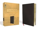 KJV, Thompson Chain-Reference Bible, Large Print, Bonded Leather, Black, Red Letter