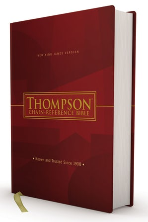 NKJV, Thompson Chain-Reference Bible, Hardcover, Red Letter book image