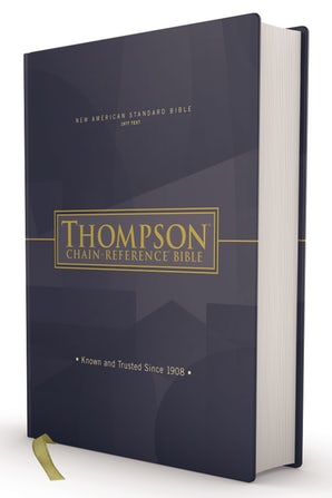 NASB, Thompson Chain-Reference Bible, Hardcover, Red Letter, 1977 Text book image