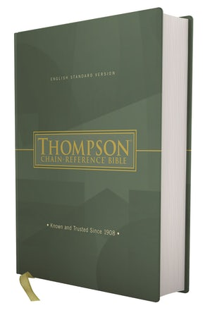 ESV, Thompson Chain-Reference Bible, Hardcover, Red Letter book image