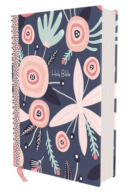 NIrV, Journal the Word Bible for Girls, Double Column, Hardcover, Comfort Print
