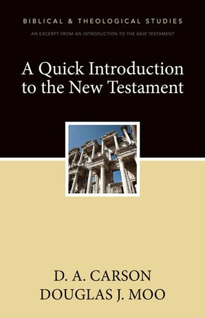 A Quick Introduction to the New Testament book image