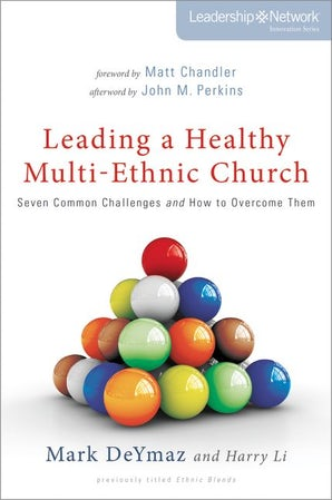 Leading a Healthy Multi-Ethnic Church book image