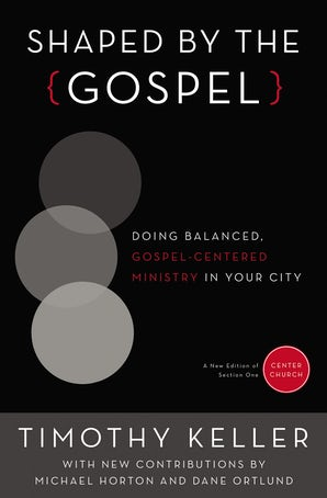 Shaped by the Gospel book image