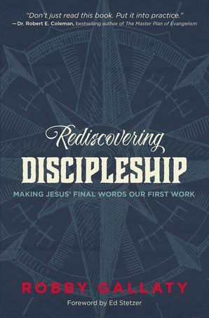 Rediscovering Discipleship book image