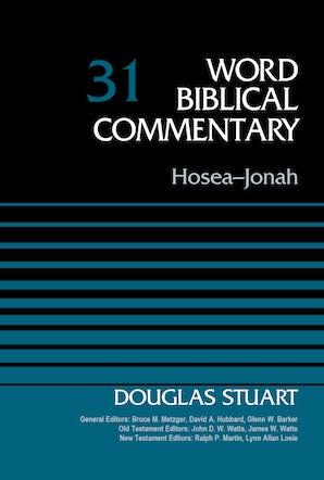 Hosea-Jonah, Volume 31 book image
