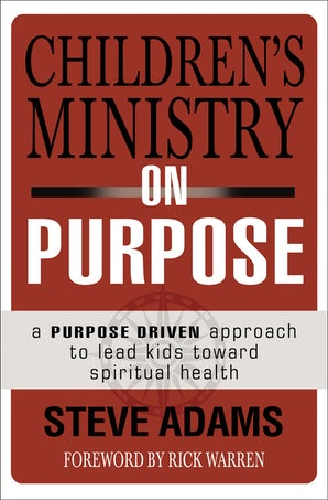 Children's Ministry on Purpose book image